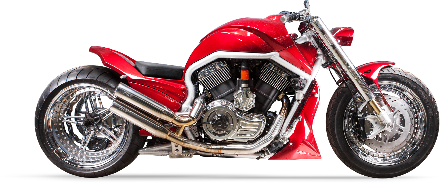 Harley Davidson Chrome Cherry